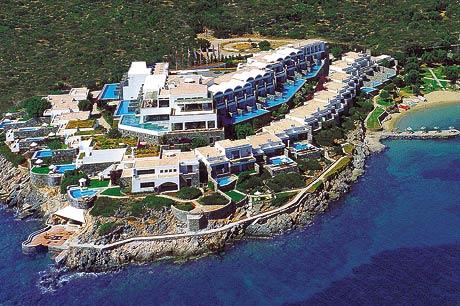 Hotels luxe crete hersonissos elounda aghios nikolaos la chanee - Hotel avec piscine privee dans la chambre ...